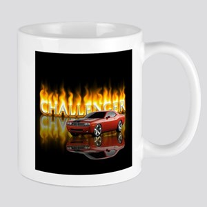 dodge chall Stainless Steel Travel Mugs